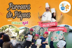 Sous forme de jeu de piste, la chasse aux oeufs CitizenKid est l'occasion pour les enfants et leurs parents de partir à la découverte du patrimoine de leur ville