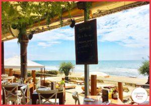 Pour un déjeuner face à la mer on se retrouve à la Pampa