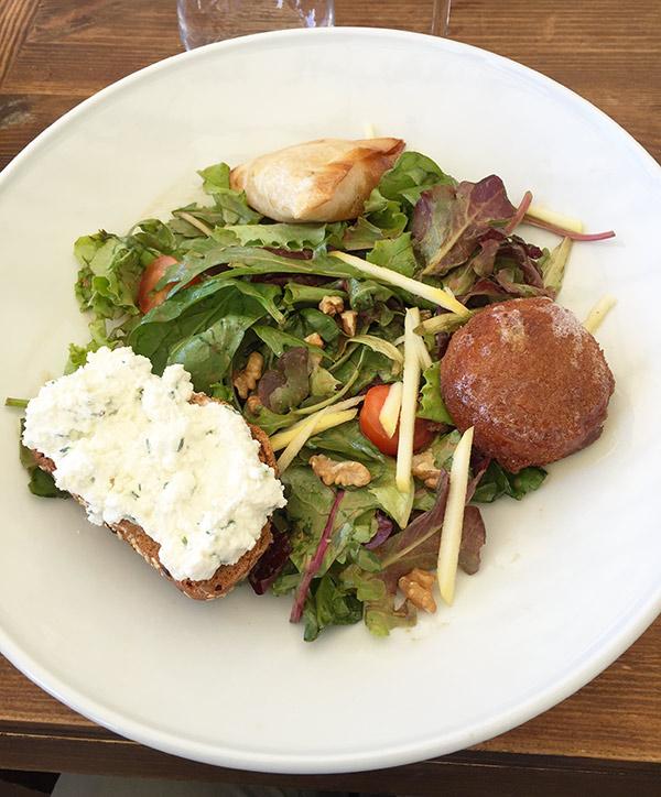 La salade de chèvre de la Pampa