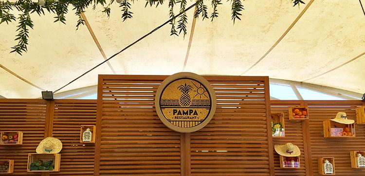 une décoration soignée vous attend à la Pampa Plage