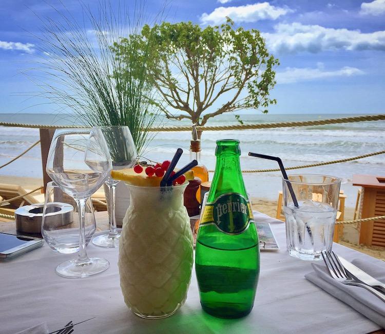 Pour boire un verre ou déjeuner en bord de mer, direction la Pampa