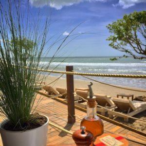 Destination la Pampa plage pour un déjeuner en bord de mer