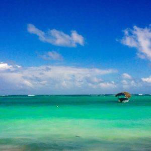 sable blanc, cocotiers à perte de vue, eau turquoise…