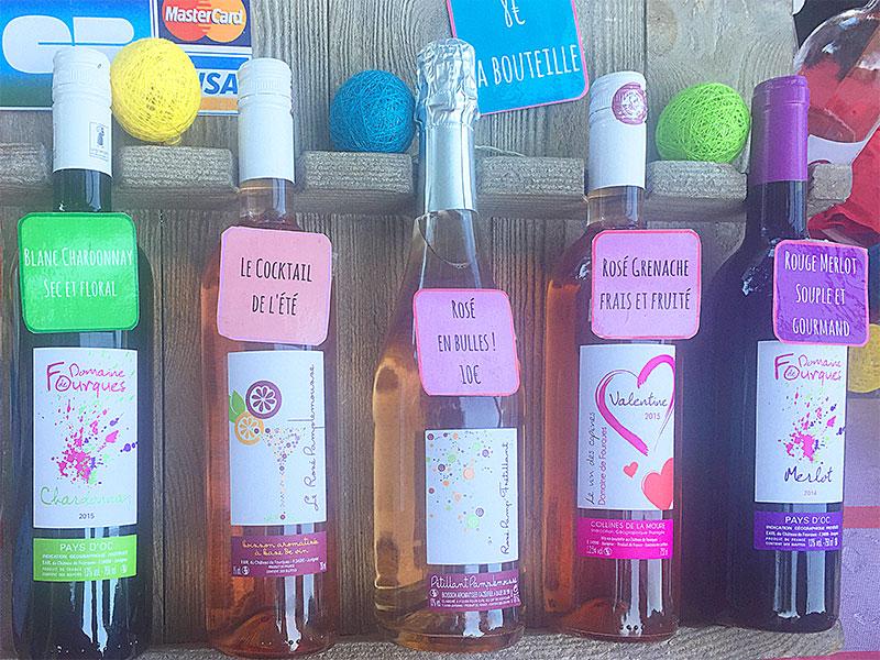 du rosé, du blanc, du pétillant... Il y en a pour tous les goûts