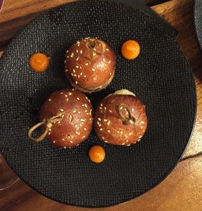 Les minis burgers gourmets du Terminal, côté tapas