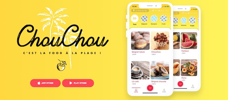Digitale et locale, cette appli 100% française à la Uber Eat vous propose un large choix de gourmandises