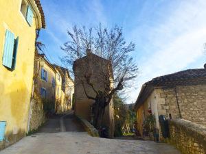 balades dans les petites rues provençales de Ménerbes