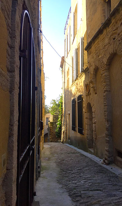 les petites rues de Ménerbes