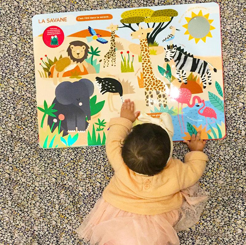 Mon très Grand Livre d'Eveil illustré par Michelle Carlslund aux éditions Auzou